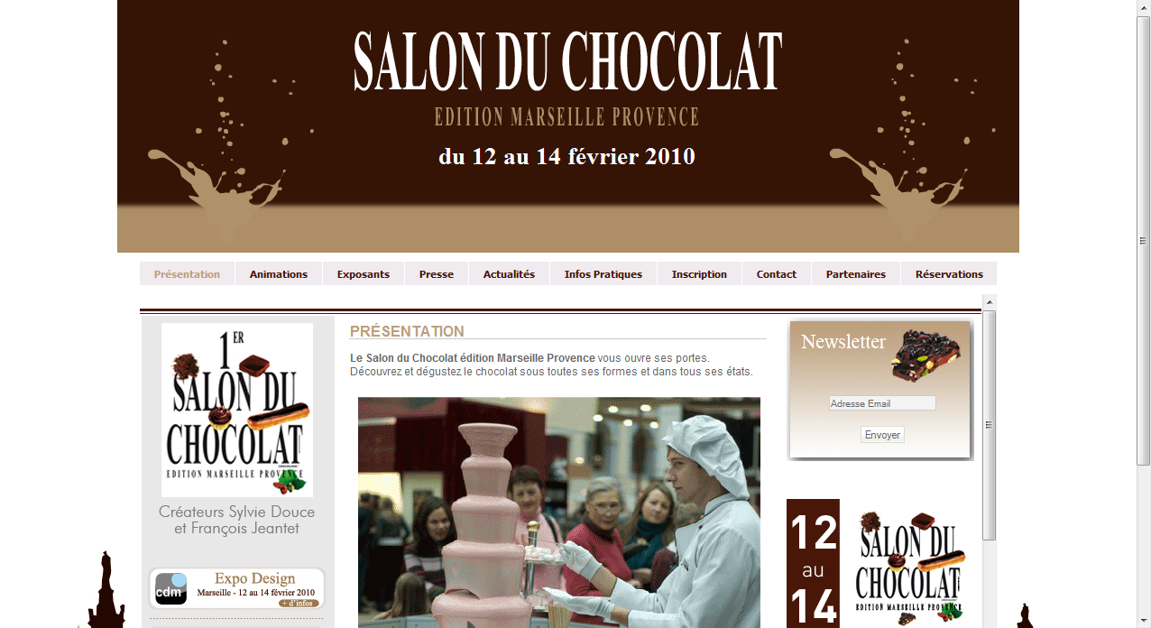 Salon du chocolat marseille dition 2010 zakstudio - Salon du chocolat a marseille ...
