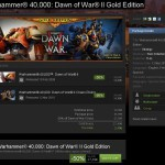 Warhammer 40,000: Dawn of War II Gold Edition à moitié prix ce Week End