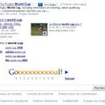 Google easter egg : World Cup