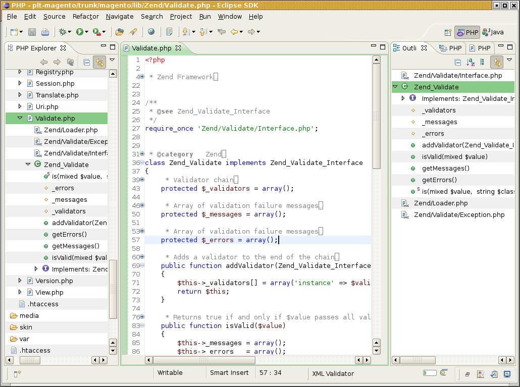 eclipse ide php