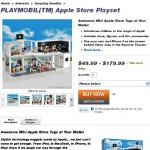 L'applestore chez Playmobil