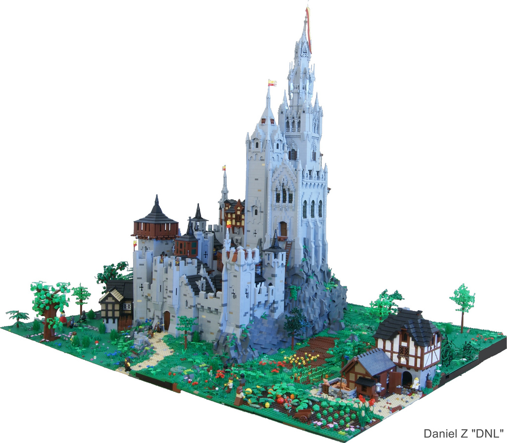 Galerie De Chateaux En Lego on Cool Things To Build A City In Minecraft