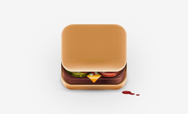 iphone icon hamburger