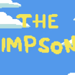 L'intro des Simpson en version pixels