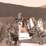 NASA's Curiosity Mars Rover at Namib Dune (360°)