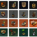 Indiana Jones Lego Vignettes
