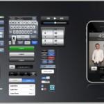 Une interface graphique en kit de l'iphone