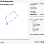 Un jeu de géometrie