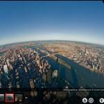 New York en vue aérienne