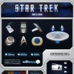 Les icones Star Trek