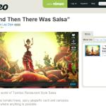 Une vidéo Salsa pleine de piquant sur Vimeo