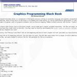 Le livre noir de la programmation graphique