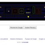 Magnifique Doodle (entête Google) pour les 30 ans de Pacman