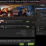 Warhammer 40,000: Dawn of War II Gold Edition à moitié prix ce Week End