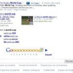 Google easter egg : World Cup