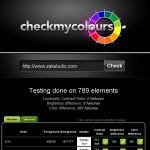 Vérifiez les couleurs de votre site web