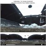 L'explosion du stade des Cowboys de Dallas à 360°
