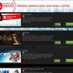Promotion EA sur Mirror's Edge, Dead Space et Spore
