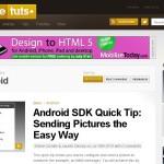 Des tutoriaux sur la programmation Android (mobile)