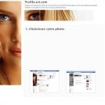 Affichez vous sur facebook avec Profil Art