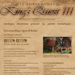 Le remake de King's Quest 3 est disponible