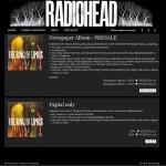 Nouvel album de Radiohead