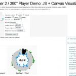 Un lecteur audio à 360° en javascript