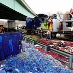 Accident du camion des Schtroumphs