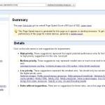 Page Speed, vérifiez la solidité de votre site