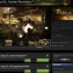 Deus Ex : Human Revolution à 25€