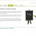 Apprenez à développer sur Android