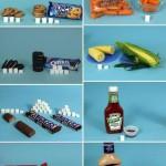 Le nombre de sucre dans la nourriture