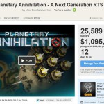 Planetary Annihilation, les unités navales