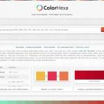 Un site pour des couleurs