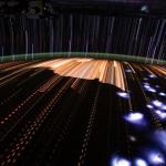 Des trainées de lumières depuis ISS