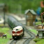 Des modèles réduits de trains