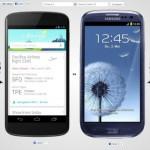 Comparaison de mobiles