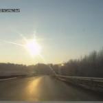 Une météorite en Russie