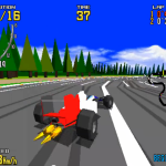 Virtua Racing sur Mame