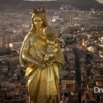 Notre Dame de la Garde à Marseille en 4K