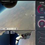 Le saut de Felix Baumgartner sous plusieurs angles