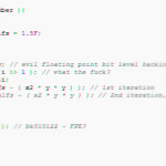 Comment calculer une racine carrée selon Carmack
