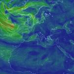 La carte des vents en temps réel