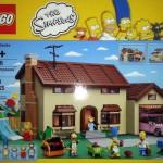 La maison des Simpson en Lego