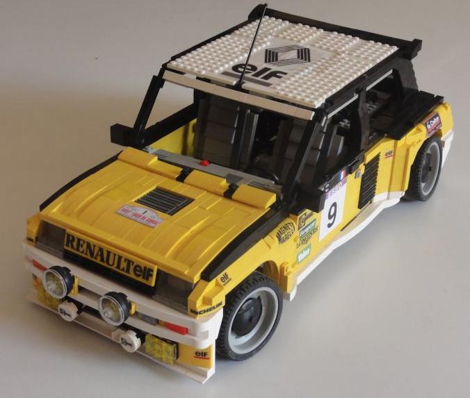 Renault R5 Turbo: Renault 5 Turbo Lego