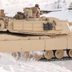 M1A1 Tanks Drift dans la neige