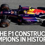Toutes les F1 championnes du monde