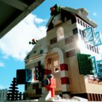 Humble création en Lego pour Noël